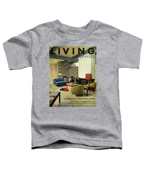 A Living Room With Carpeting By Callaway Toddler T-Shirt