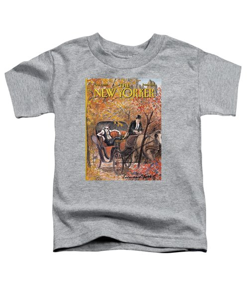 New Yorker October 5th, 1992 Toddler T-Shirt