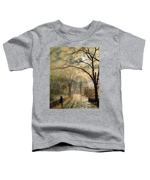 A Moonlit Stroll Bonchurch Isle Of Wight Toddler T-Shirt