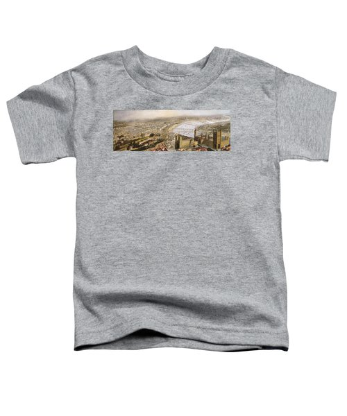 A Panoramic View Of London Toddler T-Shirt