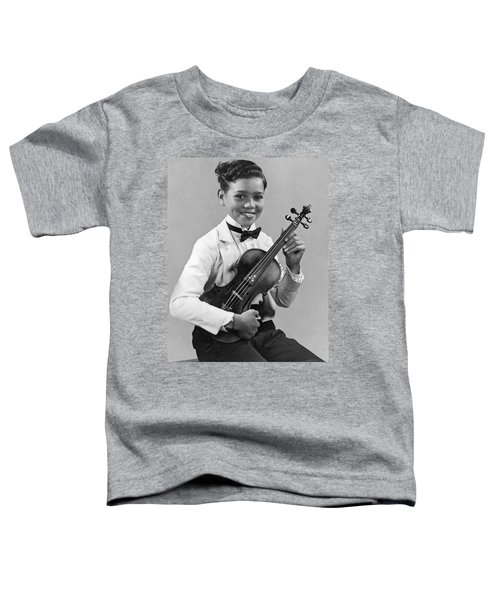 A Proud And Elegant Violinist Toddler T-Shirt