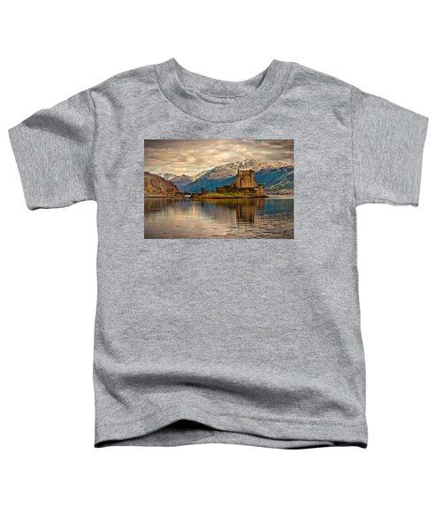 A Reflection At Eilean Donan Castle Toddler T-Shirt
