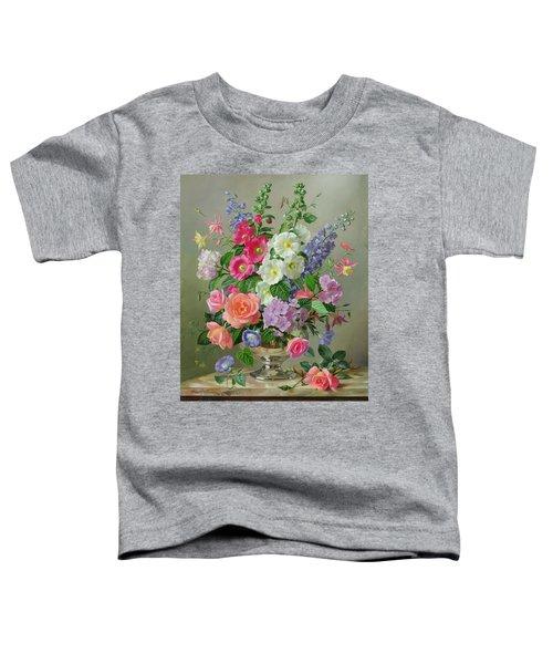 A September Floral Arrangement Toddler T-Shirt