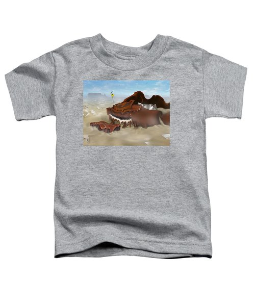 A Slow Death In Piano Valley - Panoramic Toddler T-Shirt