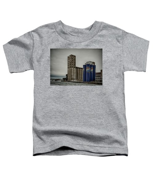 A Tall Blue Six-pack Toddler T-Shirt