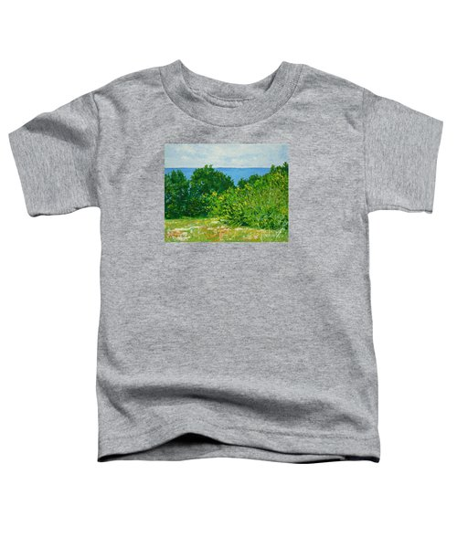 A Winter's Day At The Beach Toddler T-Shirt