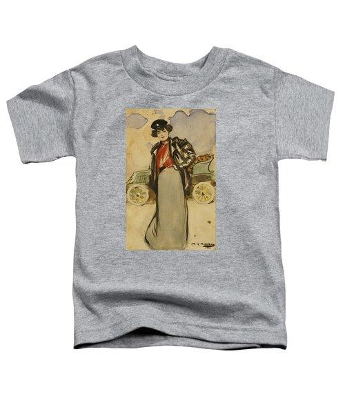 A Woman Driver Toddler T-Shirt