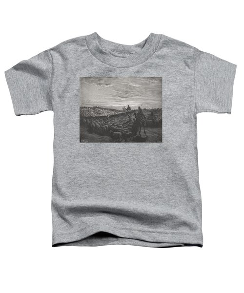 Abraham Journeying Into The Land Of Canaan Toddler T-Shirt