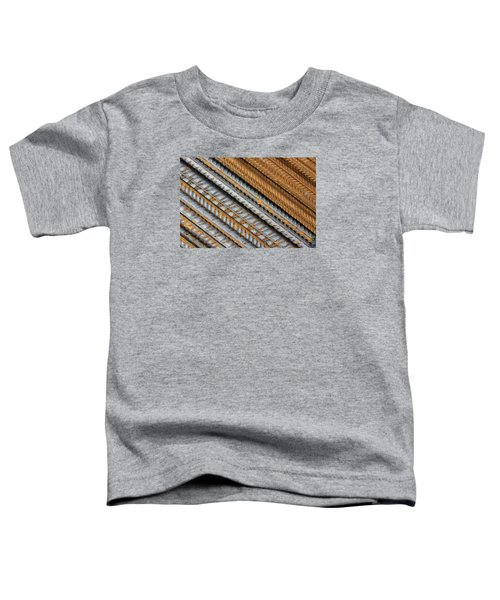 Abstract Metal Texture Pattern Toddler T-Shirt