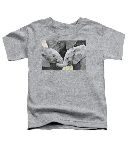 African Elephant Calves Loxodonta Toddler T-Shirt