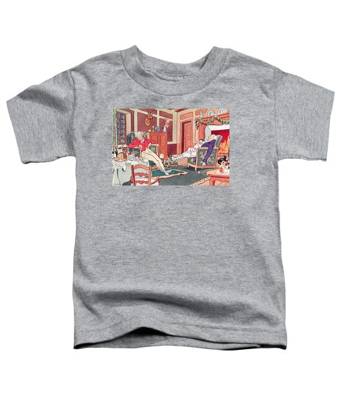 After Christmas Lunch Toddler T-Shirt