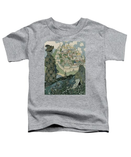Alexander Pushkin's Fairytale Of The Tsar Saltan Toddler T-Shirt