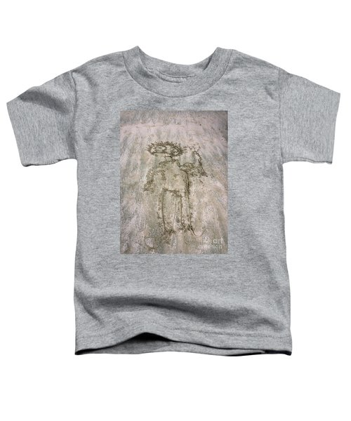 Alien On The Beach Toddler T-Shirt
