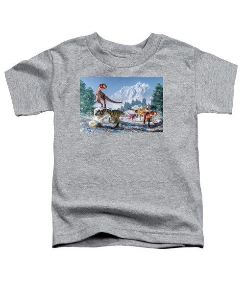 Allosaurus Pack Toddler T-Shirt