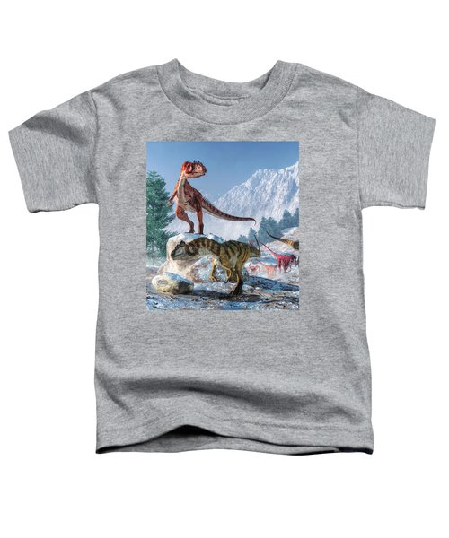 Allosaurus Pack Toddler T-Shirt
