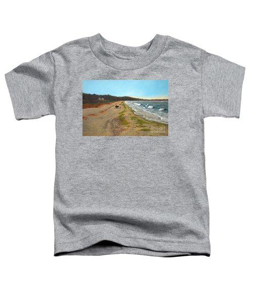 Along The Shore In Hyde Hole Beach Rhode Island Toddler T-Shirt
