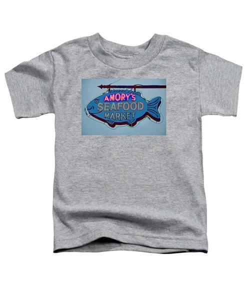 Amory Seafood Sign Toddler T-Shirt