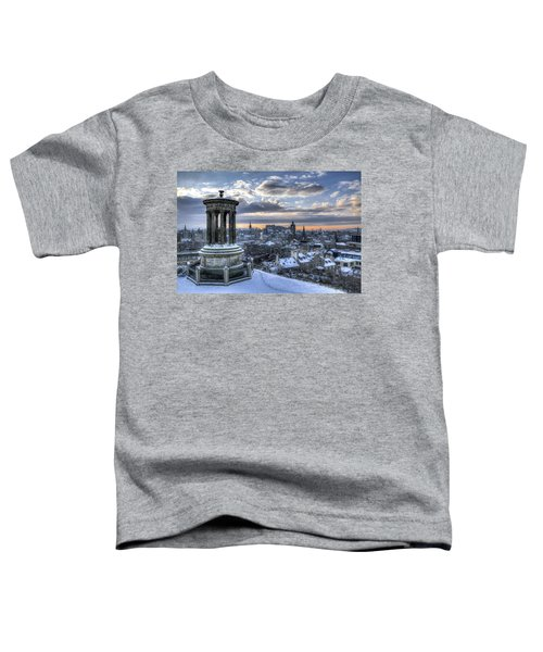 An Edinburgh Winter Toddler T-Shirt