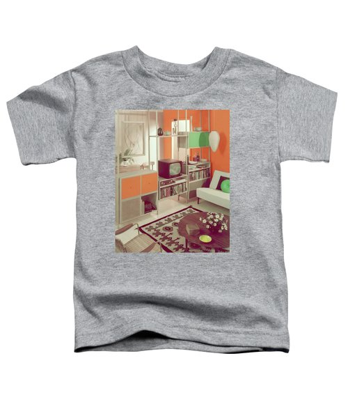 An Orange Living Room Toddler T-Shirt