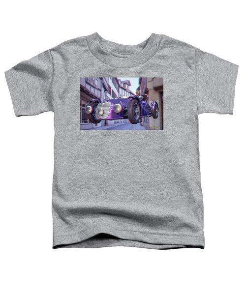 Anaglyph Old Car  Toddler T-Shirt