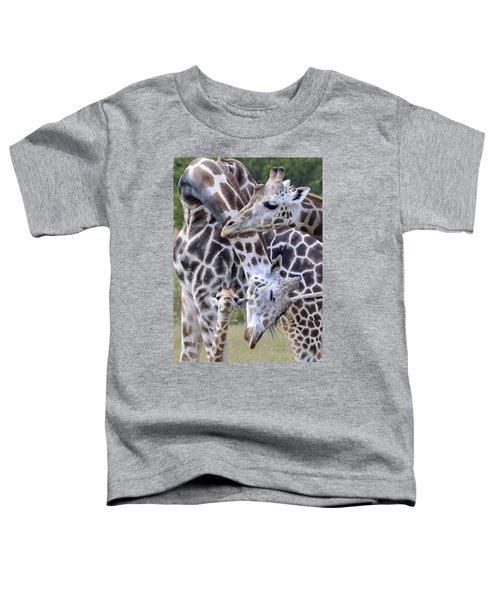 And Baby Makes Three Toddler T-Shirt