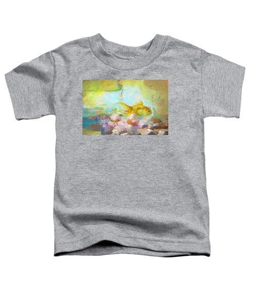 Aqua Goldilocks Toddler T-Shirt