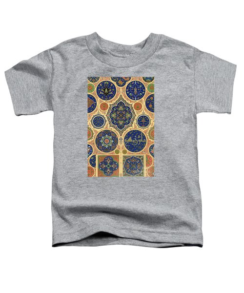 Arabian Decoration Plate Xxvii From Polychrome Ornament Toddler T-Shirt