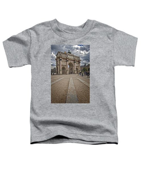 Arc De Triomphe Louvre  Toddler T-Shirt