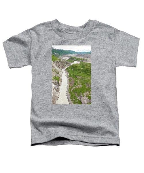Arial View Of Turnback Canyon, Alsek Toddler T-Shirt