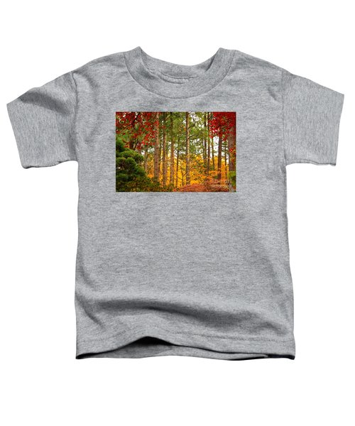 Autumn Canvas Toddler T-Shirt