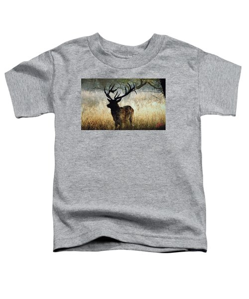 Toddler T-Shirt featuring the photograph Autumn Forest Walk In Denmark  by Colette V Hera  Guggenheim