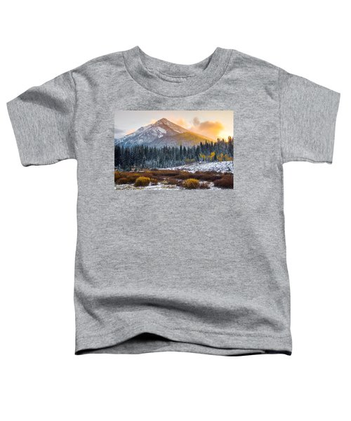 Autumn Glow Toddler T-Shirt