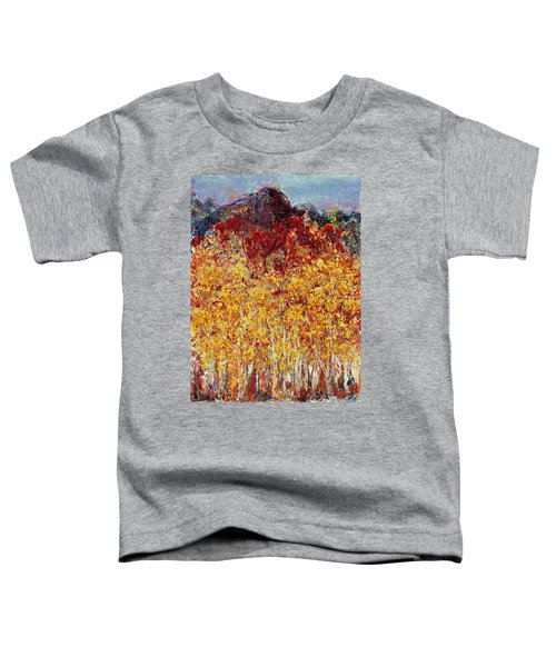 Autumn In The Pioneer Valley Toddler T-Shirt