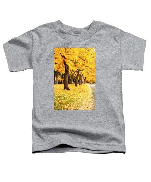 Autumn Perspective Toddler T-Shirt