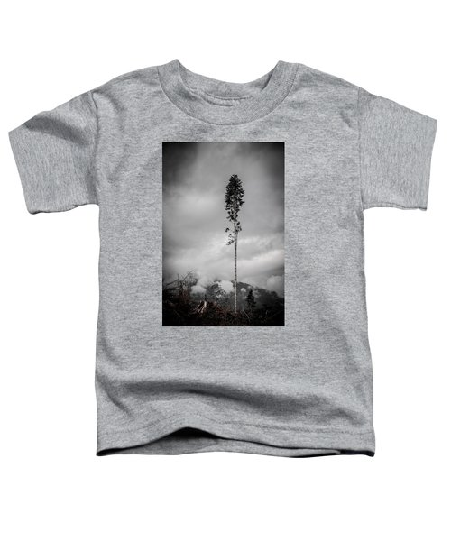Lone Tree Landscape  Toddler T-Shirt