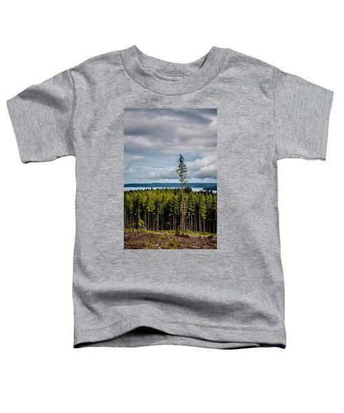 Logging Road Ocean View  Toddler T-Shirt