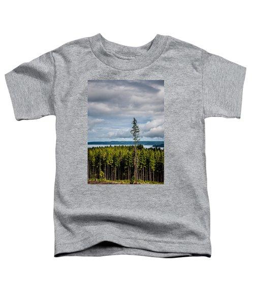 Logging Road Ocean View  Toddler T-Shirt