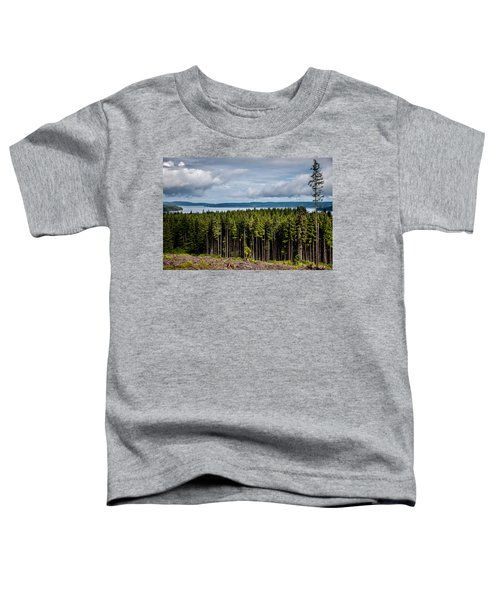 Logging Road Landscape Toddler T-Shirt
