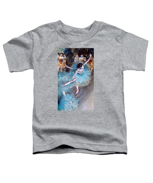 Ballerina On Pointe  Toddler T-Shirt