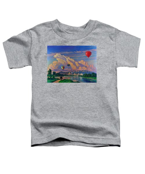 Ballooning On The Rio Grande Toddler T-Shirt