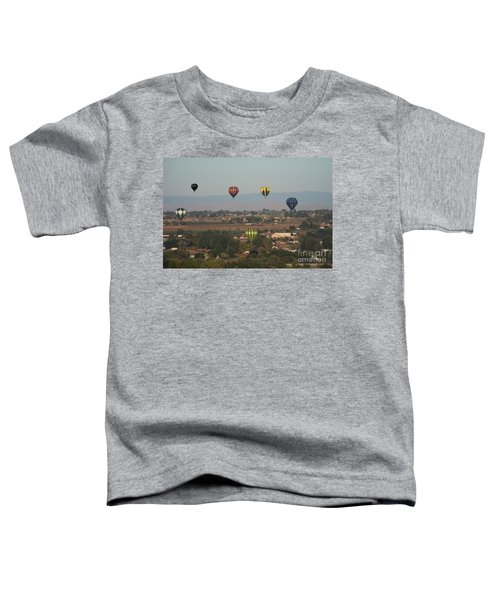 Balloons Over The Valley Toddler T-Shirt
