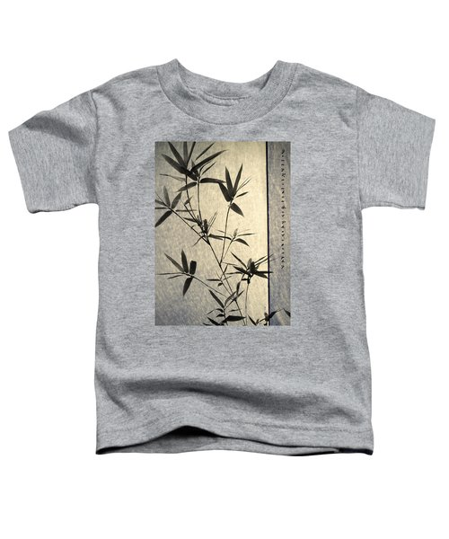 Bamboo Leaves Toddler T-Shirt