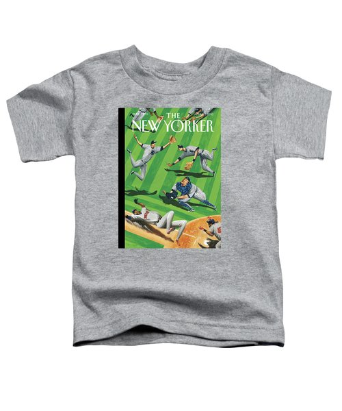Baseball Ballet Toddler T-Shirt