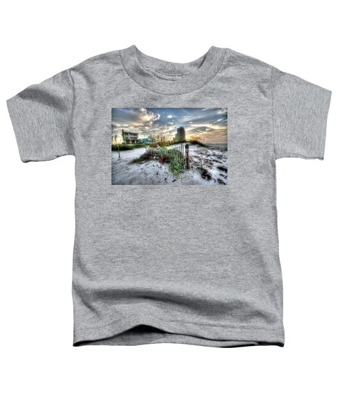Beach And Buildings Toddler T-Shirt