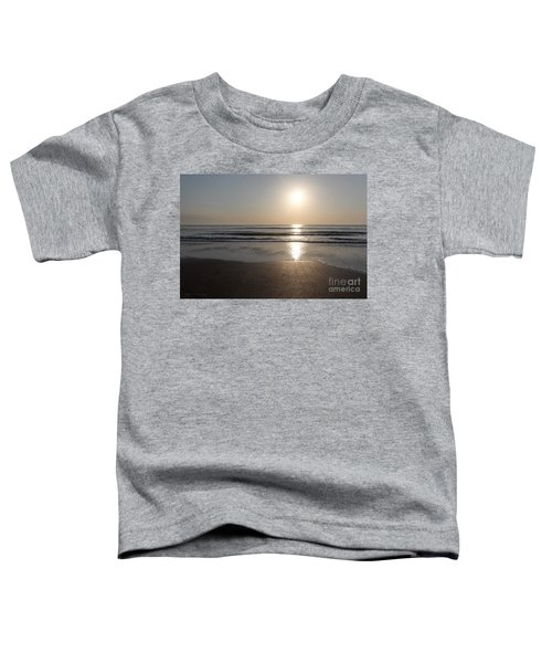 Beach At Sunrise Toddler T-Shirt