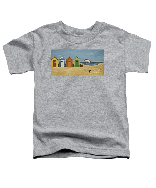Beach Huts Toddler T-Shirt