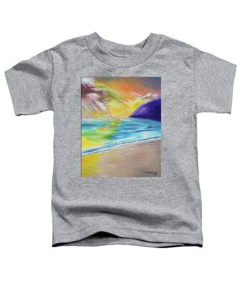 Beach Reflection Toddler T-Shirt