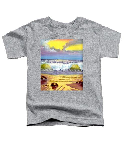 Beautiful Beach Toddler T-Shirt