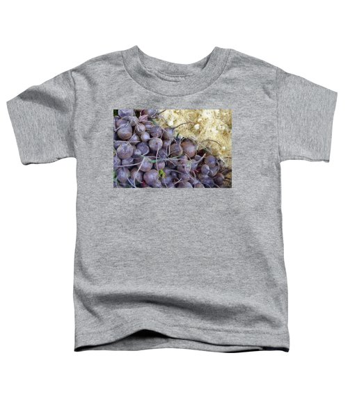 Beets And Mini Onions At The Market Toddler T-Shirt