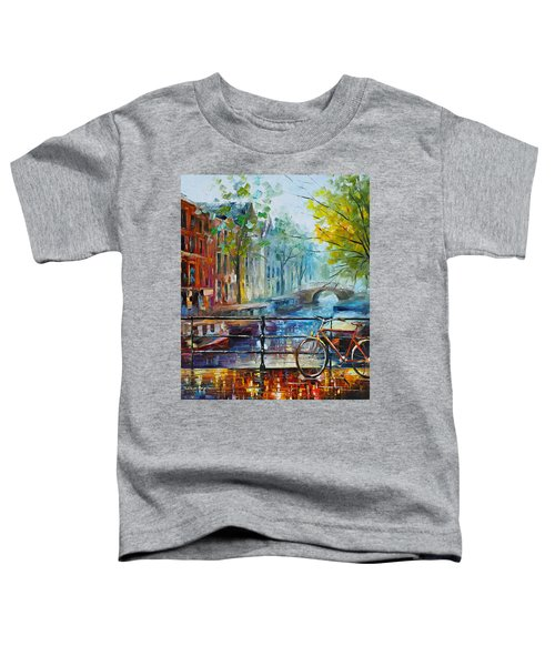 Bicycle In Amsterdam Toddler T-Shirt